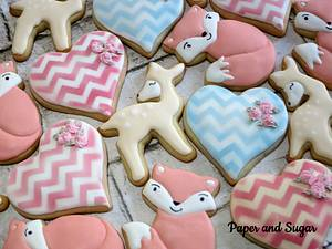 Woodland cookies - Cake by Dina - Paper and Sugar