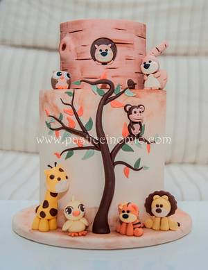 Jungle Cake - Cake by Pasticcino Mio