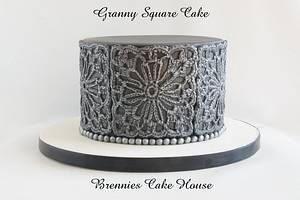 Granny Square Cake - Cake by Brenda Bakker