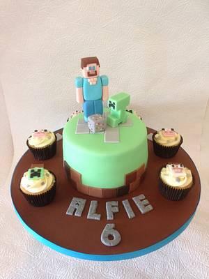 Minecraft Cake - Cake by Cis4Cake