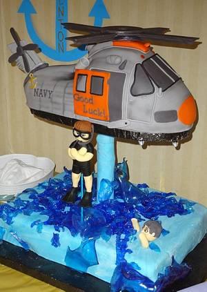 Trenton's Navy cake - Cake by Nissa