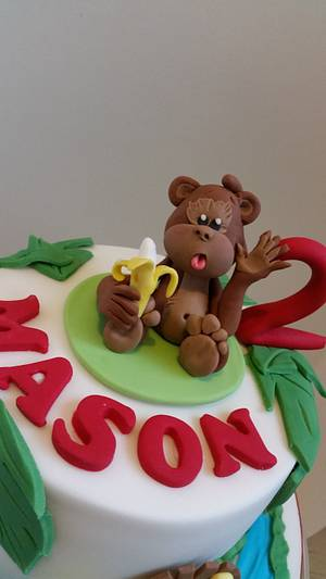 Cheeky monkey - Cake by Love it cakes