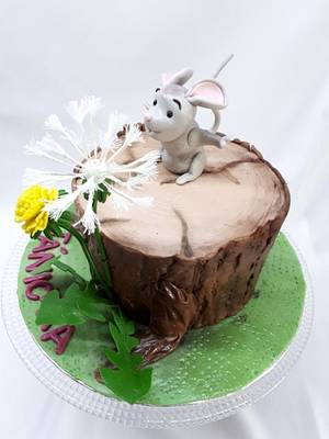 mouse cake - Cake by Kaliss