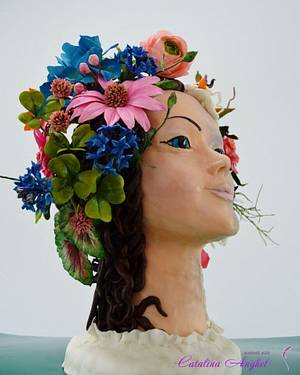 Mother Earth - Acts of Green UNSA -2016 - Cake by Catalina Anghel azúcar'arte