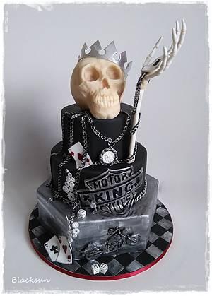 Skull king - Cake by Zuzana Kmecova