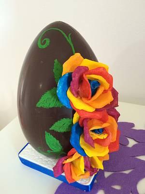 Easter egg  - Cake by MELANIASCAKEATELIER
