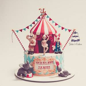 The Circus Cake - Cake by Jake's Cakes