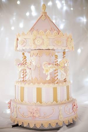 Carousel Cake - Cake by Paul Bradford Sugarcraft School