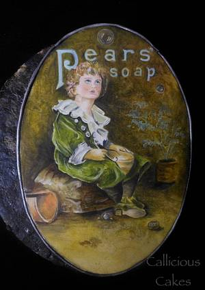 Vintage Pears Soap - Bubbles - Cake by Calli Creations
