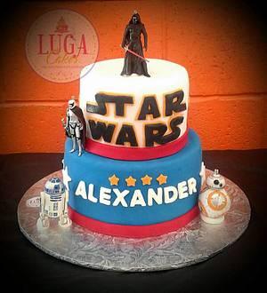 Star wars cake - Cake by Luga Cakes