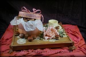 Tea for 40! - Cake by Dorothy Klerck