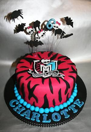 Monster High Cake - Cake by Rachel White