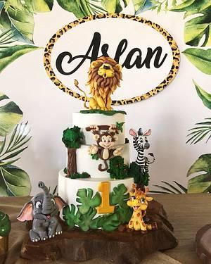 Safari birthday cake  - Cake by Şule