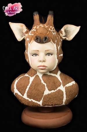 EMMA (GIRAFFE THE CHALLENGE OF BAKERSWOOD)  - Cake by Raquel García
