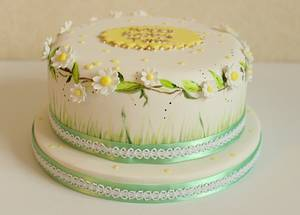 Spring cake  - Cake by ClearlyCake