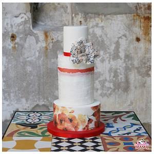 Sweet Romance Wedding Cake - Cake by Soraya Sweetmama
