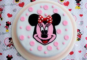 Minnie cake - Cake by Lara`s