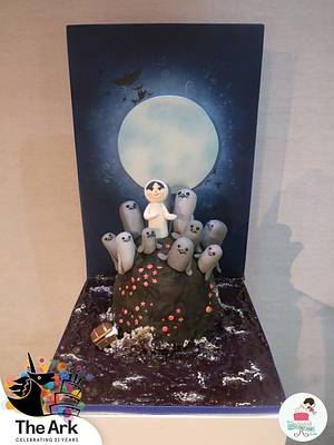 Song of the Sea - The Ark's 21st Birthday Cakes Collaboration - Cake by Little Cake Fairy Dublin