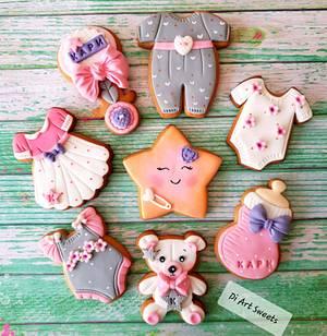 Baby's Kary cookies  - Cake by DI ART