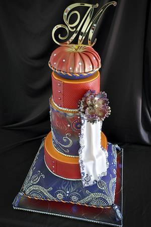 Hindu Wedding Cake - Cake by Andres Enciso