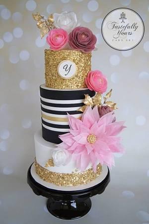 Wafer Wonderland - Cake by Marianne: Tastefully Yours Cake Art