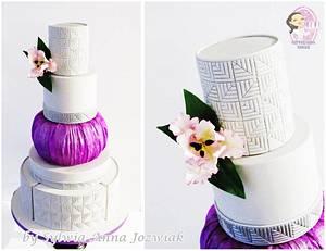 Cabbage Wedding Cake - Cake by Sylwia Jozwiak
