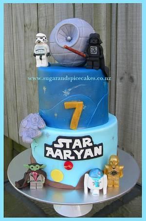 Lego Star Wars CAKE - Cake by Mel_SugarandSpiceCakes