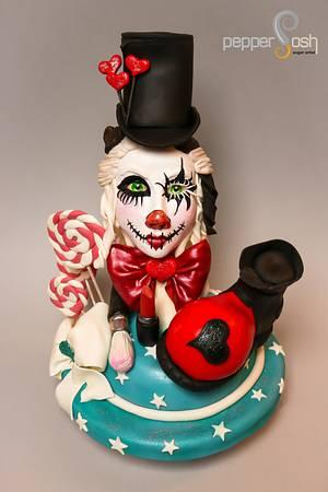 Lolly Heart @SWEET WORLD Carnival - Cake by Pepper Posh - Carla Rodrigues