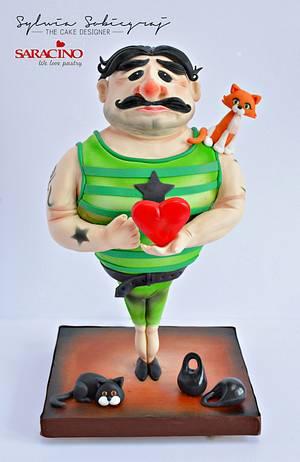 Mr Strongman - Cake by Sylwia Sobiegraj The Cake Designer