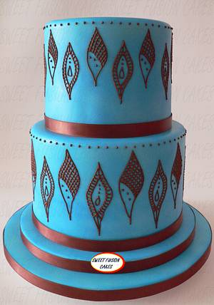 Inspired by Mendhi - Cake by Sweet Fusion Cakes (Anjuna)