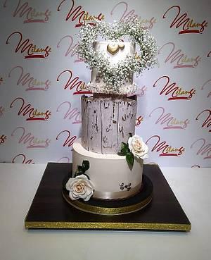 """""""WEDDING CAKE"""", """"TORTA DE BODAS"""" - Cake by SONIA PORCÚ"""