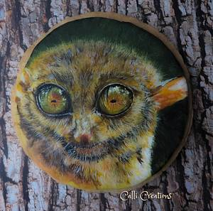 Tarsier: Animal Rights Collaboration  - Cake by Calli Creations