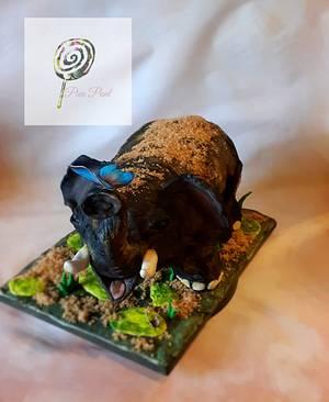 Elephant cake - Cake by Pien Punt