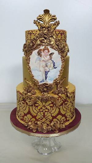 Baroque Love  - Cake by claudiamarcel