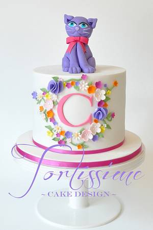C is for Charlotte - Cake by Tortissime Cake Design