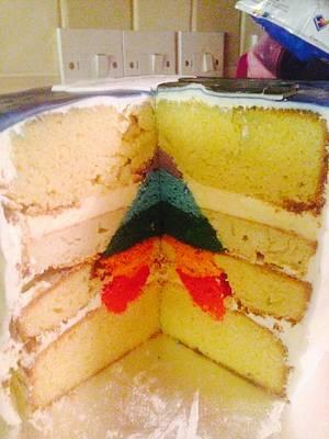 Suprise inside Cake - Cake by For Goodness Cake