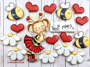 Bee mine - Cake by Le Monnier du Biscuit