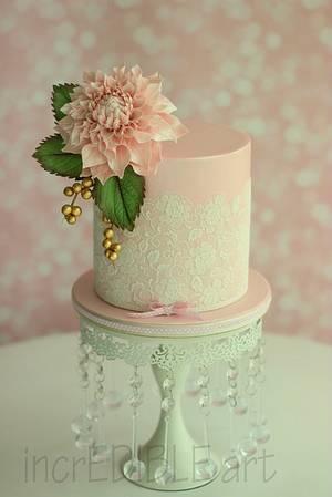 """Pretty In Pink! - Cake by Rumana Jaseel"
