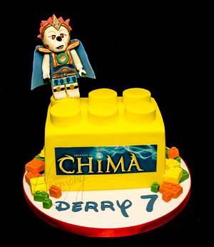 Lego Chima cake - Cake by Sweet Harmony Cakes