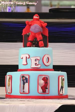 Baymax cake - Cake by MontiCakes&Catering