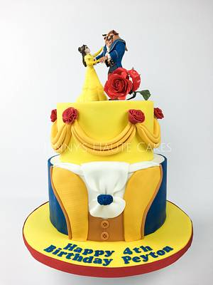 Tale as Old as Time... - Cake by Jenny Kennedy Jenny's Haute Cakes