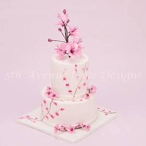 Springtime Cherry Blossom Cake - Cake by Bobbie