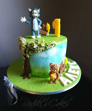 Tom and Jerry cake - Cake by Radoslava Kirilova (Radiki's Cakes)
