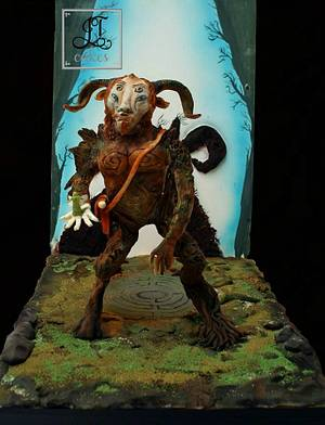 El Fauno - Myths and Fantasies Collaboration - Cake by JT Cakes
