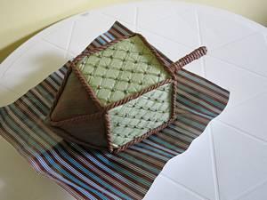 The Well Dressed Dreidel - Cake by The Garden Baker