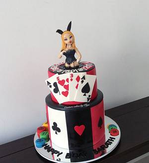 Casino cake - Cake by Couture cakes by Olga