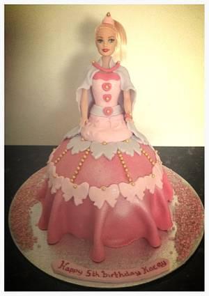 It's barbie  - Cake by Marie