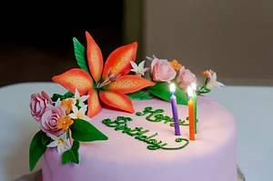 Flower Bouquet - Cake by Rakesh Menon