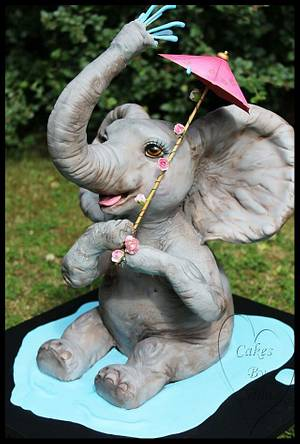 Ezme the Elephant  - Cake by Nina