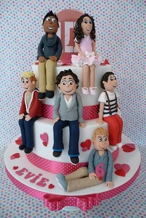 One Direction Cake - Cake by Deborah